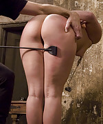 Alexa clamped, pegged and trained by couple