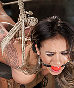 Nadia gets brutal bondage, extreme suffering, mind blowing orgasms