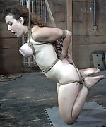 Roped, suspended, trained and face fucked