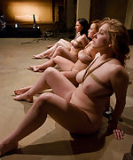 Six slavegirls bound and humiliatingly trained